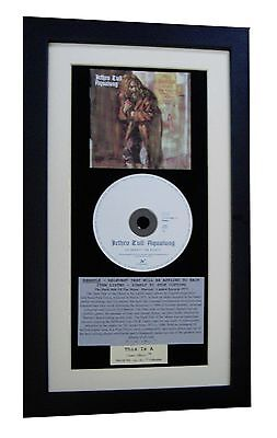 JETHRO TULL Aqualung CLASSIC CD Album GALLERY QUALITY FRAMED+EXPRESS GLOBAL SHIP • 44.95£