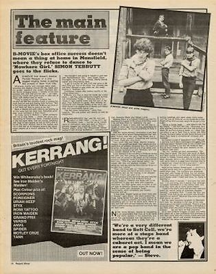B-Movie Interview/article 1982 • 11.77£