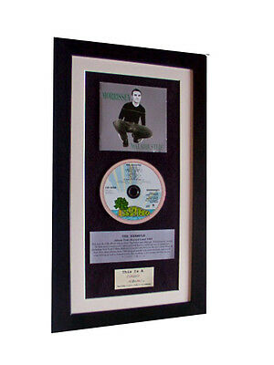 MORRISSEY Maladjusted CLASSIC CD Album QUALITY FRAMED+EXPRESS GLOBAL SHIPPING • 44.95£