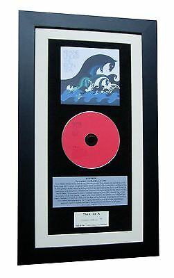 KEANE Under Iron Sea CLASSIC CD Album QUALITY FRAMED+EXPRESS GLOBAL SHIPPING! • 44.95£