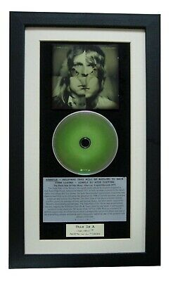 KINGS OF LEON Only Night CLASSIC CD Album FRAMED-SUPERB • 44.95£