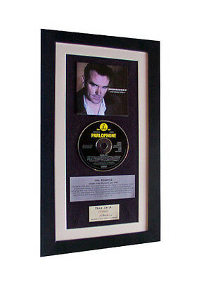 MORRISSEY / SMITHS Vauxhall CLASSIC Album FRAMED-SUPERB • 44.95£