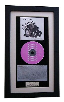 MADNESS One Step Beyond CLASSIC CD Album GALLERY QUALITY FRAMED+FAST GLOBAL SHIP • 44.95£