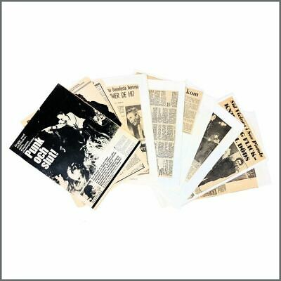 Sex Pistols 1970s Newspaper & Magazine Clippings (Sweden) • 215£