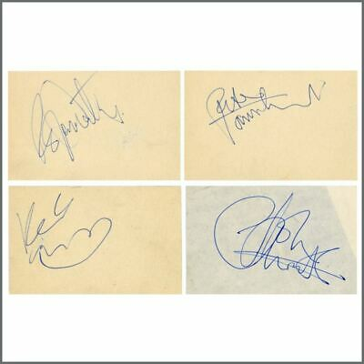 The Who Late 1960s Autographs (UK) • 1,375£