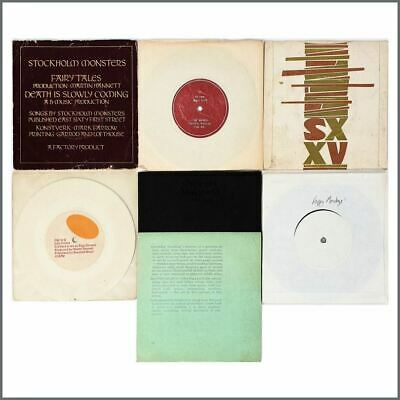 Factory Records Peter Hook 1980s 7 Inch Records & Test Pressings (UK) • 660£