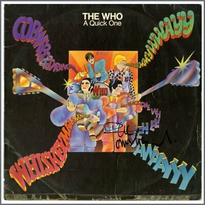 The Who 1966 Autographed A Quick One LP (UK) • 660£