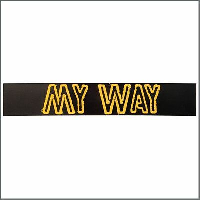 Sex Pistols Sid Vicious 1978 My Way Promotional Banner (UK) • 305£