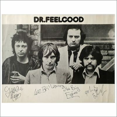 Dr Feelgood 1970s Promotional Poster (UK) • 55£