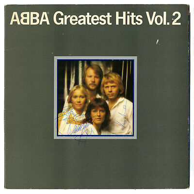 Abba Fully Autographed Greatest Hits Vol. 2 Album (UK) • 1,650£
