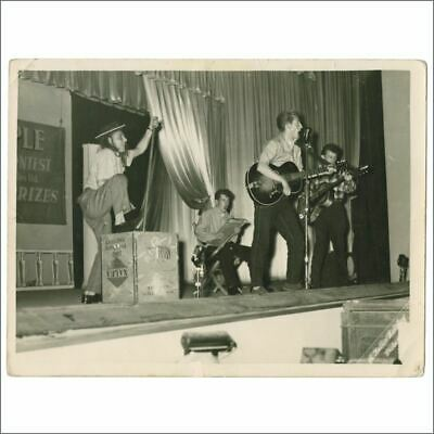 Rory Storm & The Hurricanes 50s Butlins Talent Competition Vintage Photo (UK) • 220£