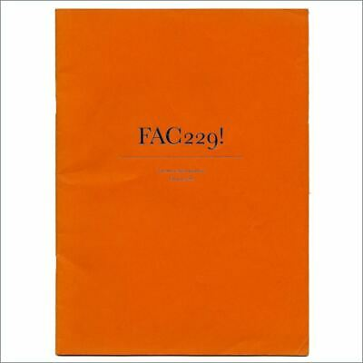 Factory Records 1989 The Music Week Factorial FAC 229 (UK) • 165£
