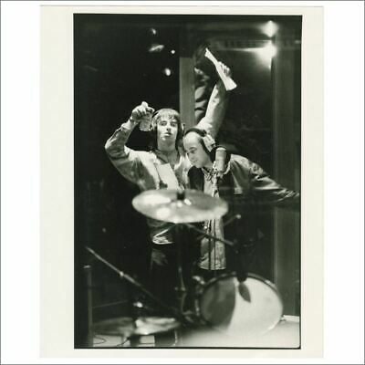 Liam Gallagher Bonehead 1995 Morning Glory Recording Michael Jones Signed Photo • 82.50£