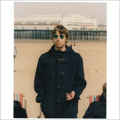 Liam Gallagher 95 Roll With It Single Cover Shoot Michael Jones Signed Photo UK • 165£