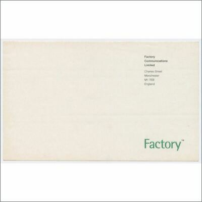 Factory Comms Early 1990s FAC 251 Charles Street Compliments Sticker (UK) • 220£