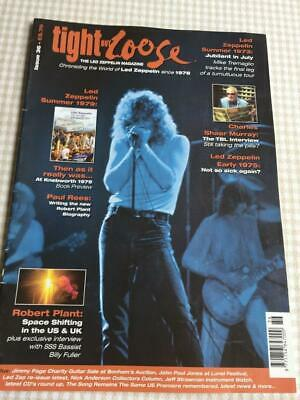 Led Zeppelin Fanzine / Magazine  Tight But Loose Issue 36 • 22.50£