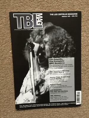 Led Zeppelin Fanzine / Magazine  Tight But Loose Issue 42 • 22.50£