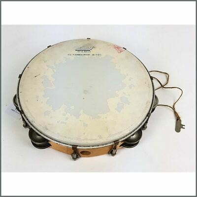 Cat Stevens 1970s Owned And Studio Used Ludwig Tambourine Yusuf Islam • 435£