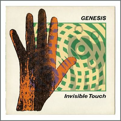 Genesis Invisible Touch 1986 UK LP Embossed Sleeve GEN LP2 (UK) • 35£