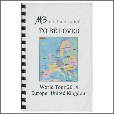 Michael Bublé 2014 Tour Itinerary (Europe) • 27.50£