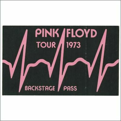 Pink Floyd 1973 Dark Side Of The Moon Tour Backstage Pass (Europe/USA) • 137.50£