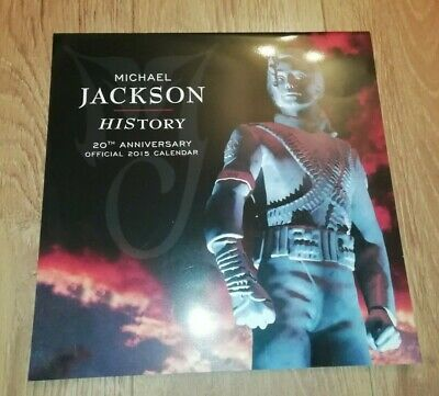 MICHAEL JACKSON * HISTORY * 20th ANNIVERSARY OFFICIAL 2015 CALENDAR  • 11.99£