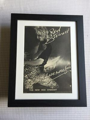 Rod Stewart Blondes Have More Fun Framed Mounted Advert 14  X 11  • 29.99£