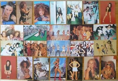 SPICE GIRLS OFFICIAL PHOTO CARDS X 24 See Photo's Lot No9 • 11.99£