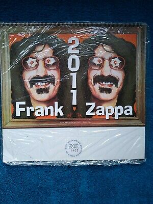 Frank Zappa 2011 Calender. Limited Edition 0023 Of 1000. Still In Wrapper. New. • 49.95£