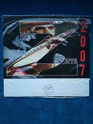 Frank Zappa Calendar 2007. Limited Edition 0562 Of 1000. Still In Wrapper. New • 49.95£