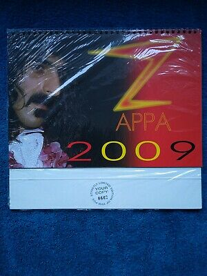 Frank Zappa Calender 2009. Limited Edition 0667 Of 1000. Still In Wrapper. New • 29.95£
