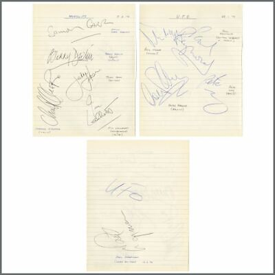 UFO / Horslips 1979 Autographs (UK) • 275£