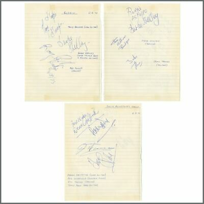 Budgie / Colin Blunstone's Group 1973 Autographs (UK) • 195£