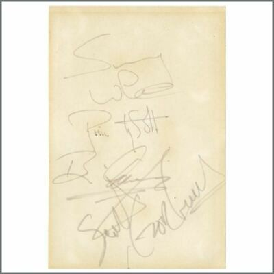 Thin Lizzy 1981 Autographs (UK) • 360£