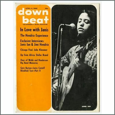 Jimi Hendrix 1968 Down Beat Magazine (USA) • 55£