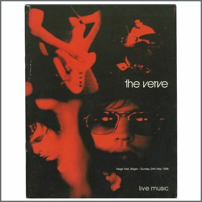 The Verve 1998 Haigh Hall Wigan Concert Programme (UK) • 27.50£