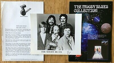 Moody Blues  'Octave'  1978 UK Press Kit • 24.99£