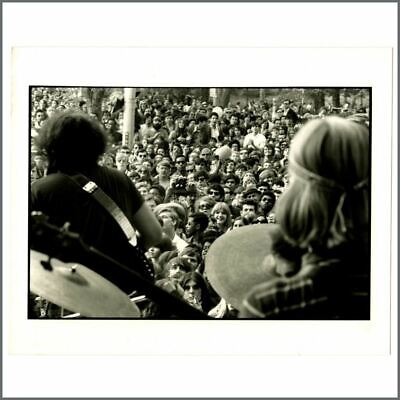 Grateful Dead 1968 Central Park Linda McCartney Vintage Photograph (UK) • 110£
