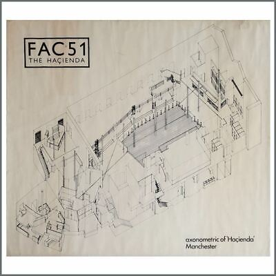 FAC51 The Hacienda 2007 Axonometric Poster (UK) • 660£