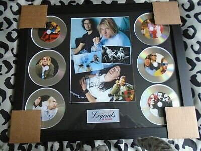 Nirvana / Kurt Cobain 6 X CD Picture Disc Montage In Black Frame *NEW * • 39.99£
