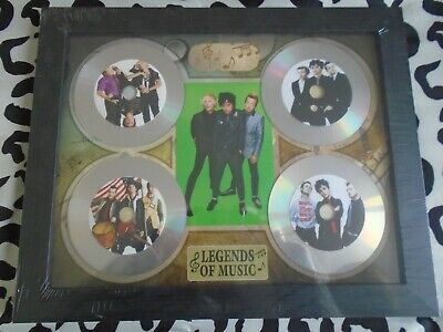 Green Day CD Picture Disc Montage In Black Frame *NEW & SEALED* • 24.99£
