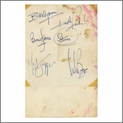 The Rolling Stones 1960s Autographs (UK) • 1,540£