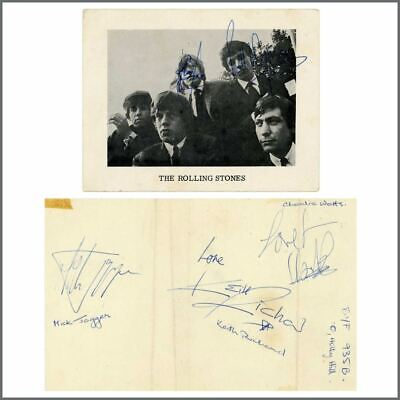 The Rolling Stones 1960s Autographs (UK) • 1,315£