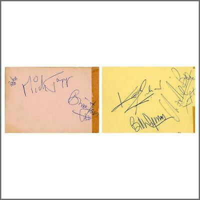 The Rolling Stones 1960s Autographs (UK) • 1,095£