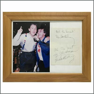 Paul & Linda McCartney Autographs (UK) • 1,095£