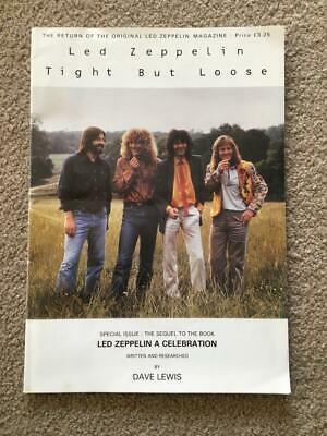 Led Zeppelin Fanzine / Magazine  Tight But Loose Issue 7 • 50£