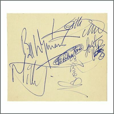 The Rolling Stones 1960s Autographs (UK) • 1,650£