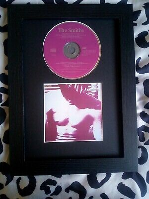 The Smiths The Smiths Original CD Album & Sleeve Mounted & Framed A4 • 21.99£