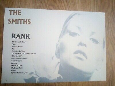 The Smiths / Morrissey 'Rank' Promotional Poster Repro/Reprint A3 Print  • 11.99£