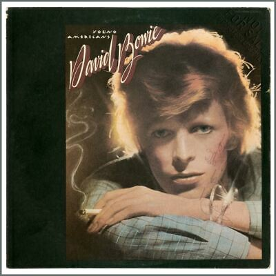 David Bowie 1975 Autographed Young Americans Promo LP Sleeve (USA). • 1,925£